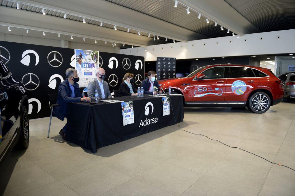 Adarsa concesionario oficial Mercedes-Benz en Salamanca, se convierte en patrocinador principal de la Ruta Vetona